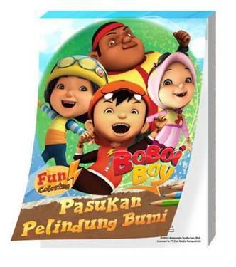 Boboi Boy Fun Coloring - Pasukan Pelindung Bumi