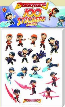 Boboiboy - 100 Stickers in Box