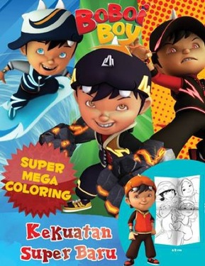 Boboi Boy Super Mega Coloring : Kekuatan Super Baru