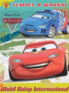 Tempel dan Warnai Cars 2: Mobil Balap Internasional