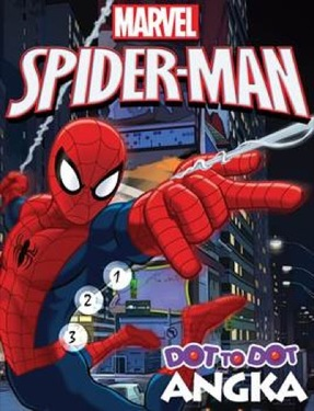 Dot to Dot Spiderman: Angka