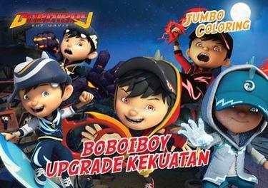 Jumbo Coloring Boboiboy : Boboiboy Upgrade Kekuatan