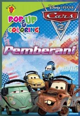 Pop up and coloring cars 2: Pemberani