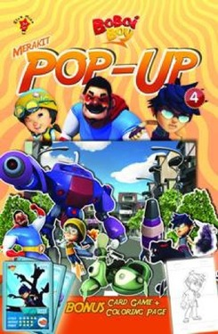 Boboiboy: Merakit Pop Up Vol. 4