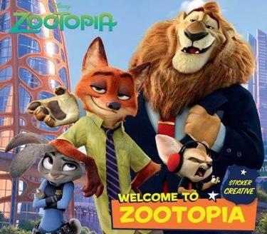 Sticker Creative Zootopia : Welcome to Zootopia