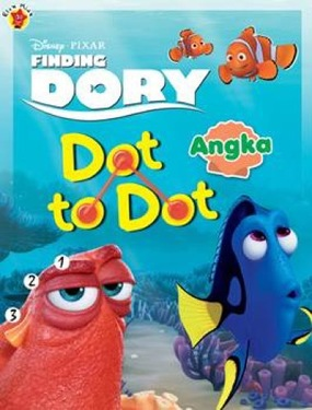 Dot to Dot Finding Dory: Angka