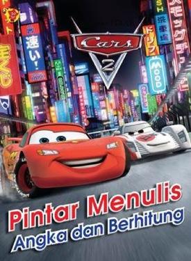 Pintar Menulis angka dan Berhitung Cars