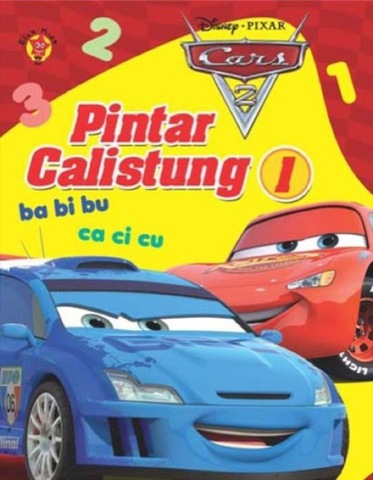 Pintar Calistung 1 Cars