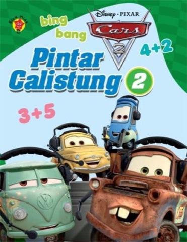 Pintar Calistung 2 Cars