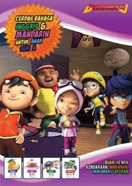 Big Book Boboiboy: Cerdas Bahasa Inggris Mandarin Anak Seri A