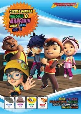 Big Book Boboiboy: Cerdas Bahasa Inggris dan Mandarin Untuk Anak Seri B