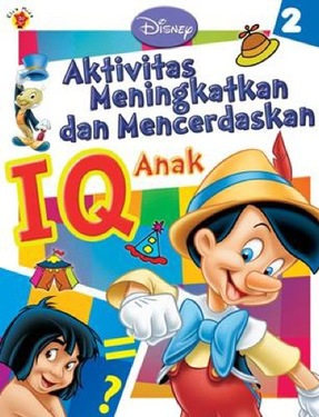 Aktivitas Meningkatkan & Mencerdaskan IQ Anak Disney 2