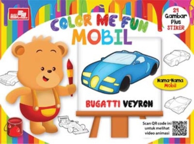 Color Me Fun - Mobil + QR