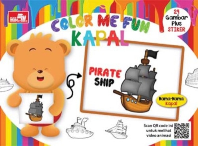 Color Me Fun - Kapal + QR