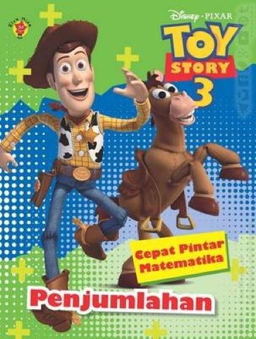 Cepat Pintar Matematika Toy Story 3 Penjumlahan