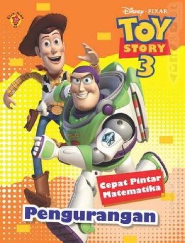 Cepat Pintar Matematika Toy Story 3 Pengurangan