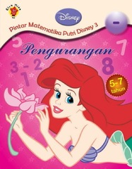 Pintar matematika Putri Disney 3: Pengurangan.
