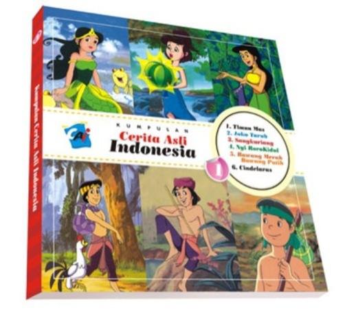 Kumpulan Cerita Asli Indonesia Vol. 1