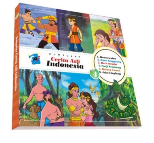 Kumpulan Cerita Asli Indonesia Vol. 4