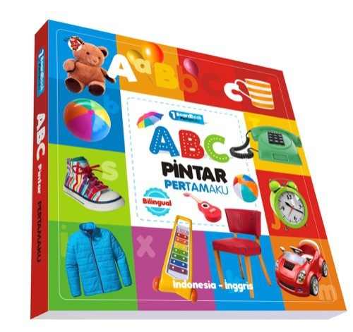 Board book Pertamaku : ABC Pertamaku