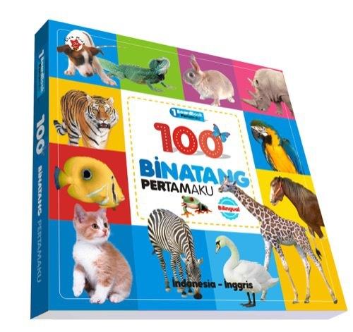 Board book Pertamaku : 100 Binatang Pertamaku