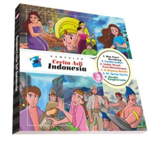 Kumpulan Cerita Asli Indonesia Vol. 5 Tim Elex