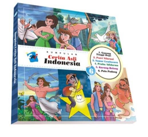Kumpulan Cerita Asli Indonesia Vol. 6
