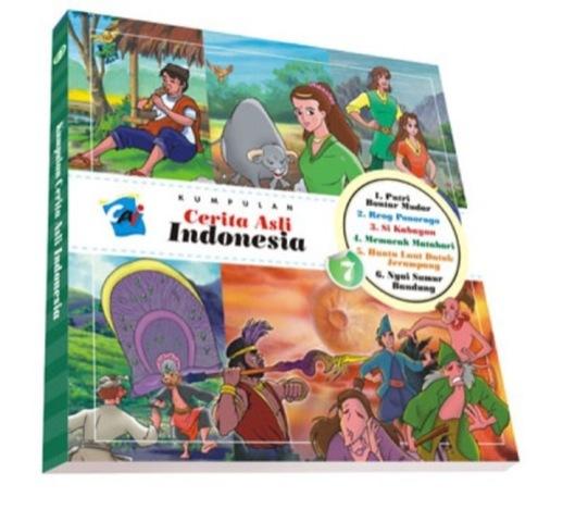 Kumpulan Cerita Asli Indonesia Vol. 7 Tim Elex