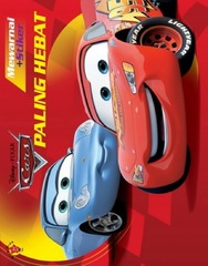Mewarnai Plus Stiker CARS: Paling Hebat