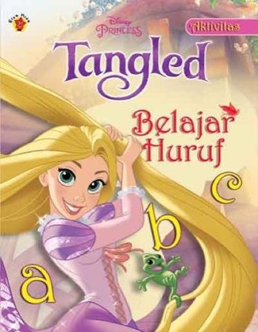 Aktivitas Disney  Tangled : Belajar Huruf