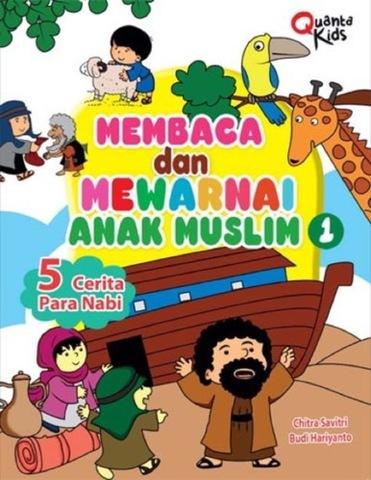 Membaca dan Mewarnai Anak Muslim 1