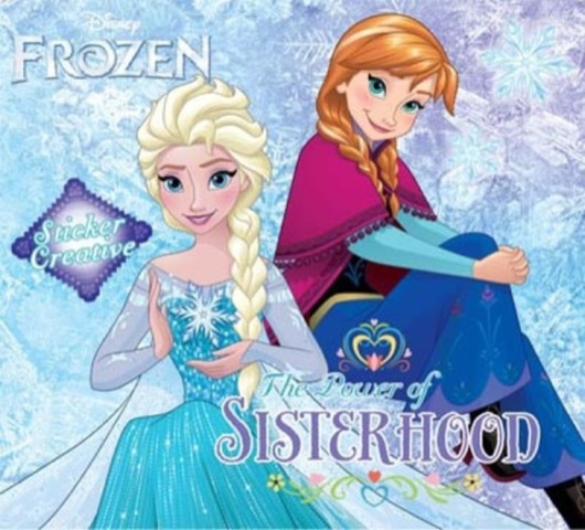 Sticker Creative Frozen: The Power of Sisterhood