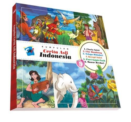 Kumpulan Cerita Asli Indonesia Vol. 9 Tim Elex
