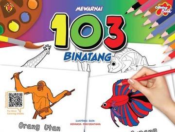 Coloring Book - Mewarnai 103 Binatang