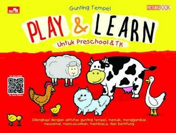 Gunting Tempel - Play and Learn Untuk Preschool dan TK