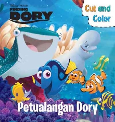Cut and Color Finding Dory - Petualangan Dory