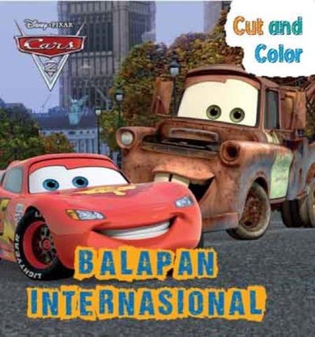 Cut and Color Cars - Balapan Internasional