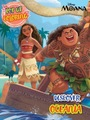 Pop up coloring Book Moana: Discover Oceania