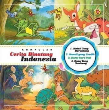 Kumpulan Cerita Binatang Indonesia Vol. 1