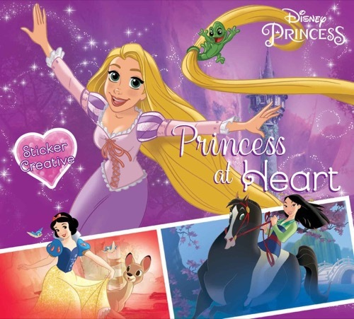 Sticker Creative Disney Princess: Princess at Heart