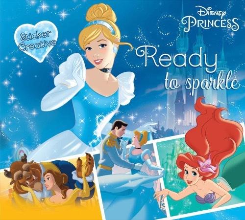 Sticker Creative Disney Princess: Ready to Sparkle