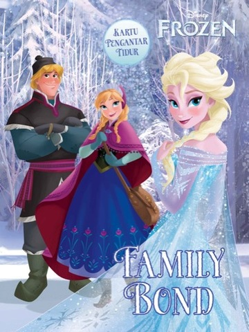 Kartu Pengantar Tidur Frozen: Family Bond
