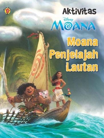 Aktivitas Moana: Moana Penjelajah Lautan