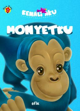 Boad Book Kenali Aku : Monyetku