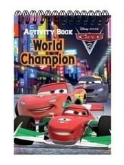 Activity Book Cars : World Champion