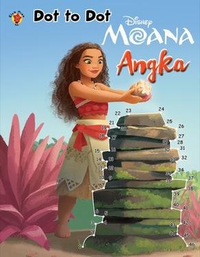 Dot to Dot Moana : Angka