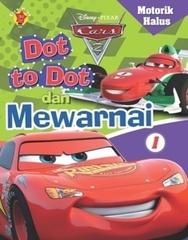 Motorik Halus cars Dot to dot dan Mewarnai 1