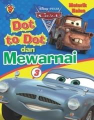 Motorik Halus cars Dot To Dot dan Mewarnai 3