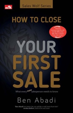 How to Close Your First Sale