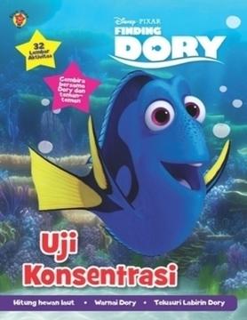 Aktivitas Finding Dory:  Uji Konsentrasi